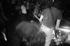 (David Chee) Tags: ricoh gr21 kodak trix 400 hc110 newyork nyc brooklyn east williamsburg don pedro latinx latino punk fest 2016 mosh pit live music shows film analog blackandwhite bw
