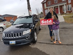 Congrats Ester on your new Jeep Compass. Ride safe and enjoy! 😃