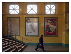 Traveling Man (kurtwolf303) Tags: berlin deutschland germany metro ubahnstation metrostation person olympusem1 omd microfourthirds micro43 strasenfotografie streetphotography wittenbergplatz urbanlifeinmetropolis unlimitedphotos topf25 250v10f 500v20f topf50 750views topf75 kurtwolf303 800views 900views topf100 saariysqualitypictures 1000v40f digitalphotography topf150 1500v60f