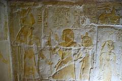 Tomb of Maya and Meryt (konde) Tags: mayaandmerit tomb 18thdynasty mayaandmeryt newkingdom saqqara ancient ancientegypt relief tombrelief hieroglyphs antefcrown sokar