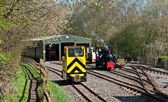 narrow gauge spring (midcheshireman) Tags: narrowgauge train locomotive steam diesel apedale staffordshire industrial