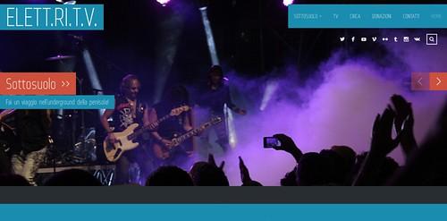 @elettritv 🎥 #elettritv 🔊 #elettrisonanti #rete #musicaoriginale 🎸 #sottosuolo #dalvivo #underground 😈 #live #music 🎵 #concerti #elettriche 💥 #risonanze #tibervalley #roma #italia