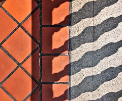 Palacio Nacional (dr_scholz@ymail.com) Tags: shadow light tile teracotta teracottafloor floor abstract leicam9 summicron35mmf2asph