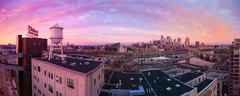 April Come She Will (matthewdaugherty@yahoo.com) Tags: panoramic minnesota minneapolis mississippi drone aerial cityscape sunrise landscape