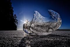 Up side down (Kari Siren) Tags: ice figure shape lake spring karijärvi