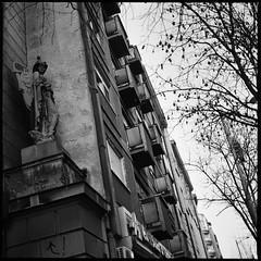 (y'phoz) Tags: sculpture hasselblad 500cm ilford film blackandwhite 120mm serbia belgrade travel