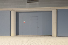 Locked (Richard:Fraser) Tags: locked door photography construction night urban cambridge richard fraser