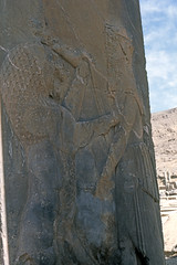 Found Photo - Iran - Persepolis - Archeological Site 19.tif (David Pirmann) Tags: iran ruins archeology persia persian unesco worldheritage xerxes parsa takhtejamshid achaemenid dpfoundphotoasia1976 persepolis