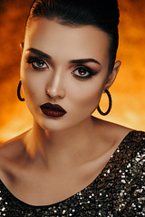 Beauty test (▲BeniaminoGelain▲) Tags: rosso beauty test model beniamino gelain light fire hot pose setdesign dp dop cto red 5dmkiv broncolor beautybox p65 siros sirosl