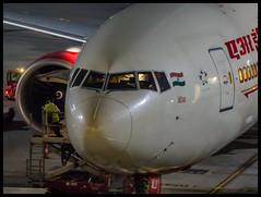 "Air India Boeing B777-300ER VT-ALU ""Orissa/Odisha"" Mumbai (VABB/BOM) (Aiel) Tags: airindia boeing b777 b777300er vtalu orissa odisha mumbai canon60d canon24105lis night noflash"