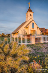 Elvis Memorial Chapel Sunset (JAKE PINEDA) Tags: elvis memorial chapel sunset arizona az superstition mountains cholla cactus desert phoenix azsunset az365 azcentral nikon d810 nikkor 2485 f3545 hdr photoshop google nik