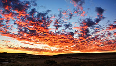 Fire Sky (DILLEmma Photography) Tags: sunset clouds sky red flames fire colors cloudscape landscape nature beauty south africa za