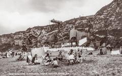 Marsden Grotto, South Shields (SouthShieldsPostcards) Tags: marsden grotto southshields south shields postcard beach sand cliffs pub seaside