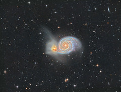 M51 HaLRGB (Photonen-Sammler) Tags: messier51 messier 51 m51 whirlpool galaxy deep sky long exposures dark night photography astrophotography astronomy cooled ccd dslr ha lrgb