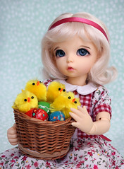 Happy Easter! (*Aloe*) Tags: bjd bjddoll doll fairyland littlefee ante easter
