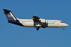 VH-NJL Cobham Aviation BAE146-300 (johnedmond) Tags: perth ypph australia bae 146 cobham aviation aircraft aeroplane airplane sel55210 55210mm sony blue sky