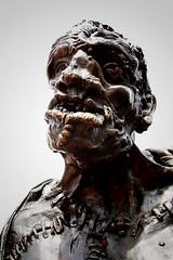 Créature (FR4GIL3) Tags: pentax k5 photography photo photographie extérieur genève suisse créature frankenstein creature mary shelley sculpture face visage monstre monster portrait