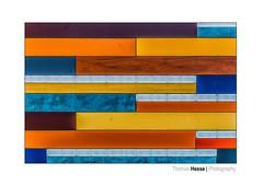 Max Hünten Haus (Der Zeit die Augenblicke stehlen) Tags: color dars deutschland eos700d farbe flächen hth56 maxhünten mondrian ostsee texturen thomashesse zingst abstrakt balticsea