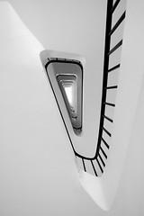 Triangle staircase (jeffclouet) Tags: paris france europe nikon nikkor d7100 triangle triangulo staircase architecture arquitectura escaleras gradas steps minimalism minimal monochrome bw pb nb graphic graphique grafico