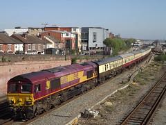 66165 Eastleigh 08-04-17 (Solebar Photography) Tags: 66165 1z91 eastleigh fawley southampton ukrt ews db