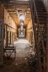 105 of 365 (westindiangal) Tags: crusty pa ©jeanchristopher abandonedprison rusty abandoned jail delapidated prison philadelphia easternstatepenitentiarypa