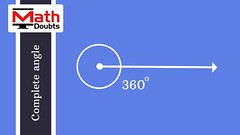 Complete angle (Math Doubts) Tags: angle geometry mathdoubts mathematics