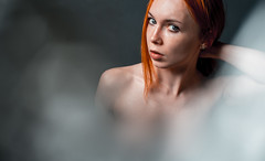 _DSC2229 (inakentiy) Tags: redhaired red mood beautiful portraite girl self me