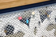 Love locks on Tower Bridge, London (Ian Press Photography) Tags: south bank london love locks tower bridge lock padlock padlocks