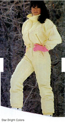 The best you can imagine (onesieworld) Tags: old ski sexy fashion one shiny neon retro suit 80s piece nylon 90s catsuit jumpsuit snowsuit onesie