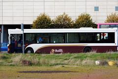 65 (Callum's Buses & Stuff) Tags: ocean white bus buses edinburgh near side terminal dennis 36 dart denis lothian mader madder transbus sk52ojj