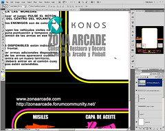 Spy Hunter Spanish Bezel. Reproduced Mikonos2 (Mikonos - Zona Arcade) Tags: original espaa classic artwork arcade spanish spy restored hunter midway zona mikonos bally licenced