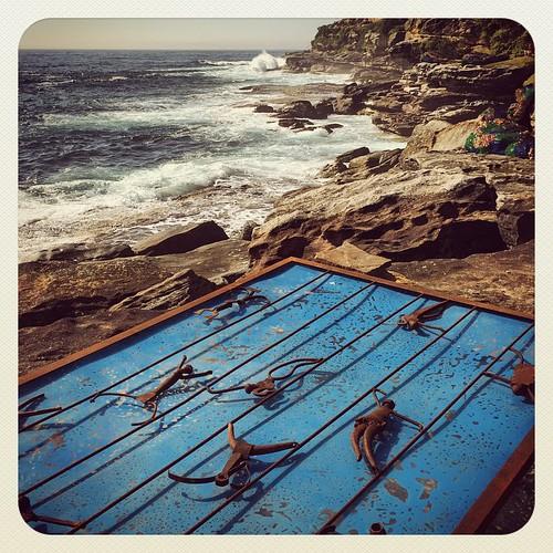 Arty Icebergs #sculpturebythesea #atbondi #bondi #ocean #swimming #pool #art #sydney