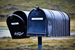 Postboxes in Nesjavellir - Iceland (IG: @gerlands) Tags: trip verde green nature canon landscape island gold hotel iceland europe north roadtrip ring adventure luxury mothernature ion selfoss islanda nesjavellir goldring gerlando gerlandoalletto ionluxuryadventurehotel