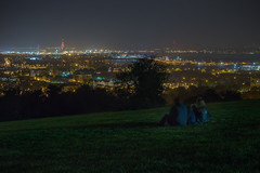 Patiently waiting (GEHPhotos) Tags: city longexposure night fireworks places hampshire slowshutter portsmouth spinakertower widley canoneos6d ef70200mmf28lisiiusm