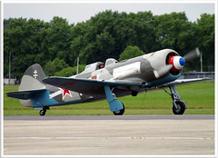 Yakovlev Yak 11 (Aerofossile2012) Tags: yak aircraft aviation 11 airshow soviet warbird avion centenaire lebourget yakovlev yak11 normandieniemen 19142014