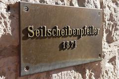 Seilscheibenpfeiler (NPaxx) Tags: oktober deutschland 2014 rdersdorf museumspark