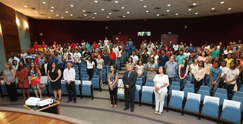 Aula Inaugural de Jovens do Programa Mais Futuro