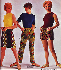 Spiegel 67 sale print bottoms (jsbuttons) Tags: clothing mod 60s buttons spiegel womens 1967 catalog 67 sixties vintagefashion