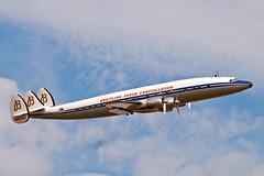 Gorgeous Air-liner.. (mickb6265) Tags: breitling scfa superconstellation lockheedc121c starofswitzerland 541056 dufordflyinglegends2014