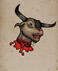 The Minotaur - American Horror Story: Coven ( |Gerardeno0| ) Tags: show house art halloween monster illustration design sketch scary blood designer drawing g clown story doodle wicked american freak killer horror murder diablo draw dibujo asylum diseo scketch twisted ilustration coven toro freaks twisty ilustracion minotaur freakshow mounstro minotauro freack murderhouse bloodyface gerardeno0 gerardeno gerardoceniceros americanhorrorstory infantata g