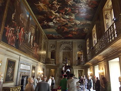Inside Chatsworth House - Painted Hall - murals (ell brown) Tags: greatbritain trees england tree stairs fireplace mural unitedkingdom juliuscaesar derbyshire ceiling staircase chesterfield bakewell chatsworth chatsworthhouse countryhouse derbyshiredales johncarr dukeofdevonshire paintedhall riverderwent chimneypiece thomasarcher jamespaine gradeilistedbuilding gradeilisted louislaguerre firstdukeofdevonshire williamtalman sirjeffreywyatville cavendishfamily 6thdukeofdevonshire 4thdukeofdevonshire jeffreywyatt 1stdukeofdevonshire sandstoneashlar derwentandwyevalleys fourthdukeofdevonshire baroqueandneoclassicalstyles sixthdukeofdevonshire bessofhardwicksgreathall