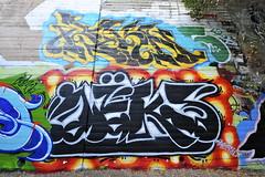 REKN, DEKS (STILSAYN) Tags: california graffiti oakland bay east area deks 2014 dekster rekn