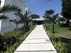 Walkway (GORILLATEMPLE) Tags: travel vacation tree beach sunshine river mexico hotel ruins riviera maya coconut getaway sandy coba grand atlantic resort mexican lazy mayan junior cancun suite roo suntanning quintana mayans sirenis