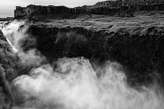 Dettifoss 1   Iceland (www.jacktheflipper.de) Tags: white black art nature water monochrome river landscape jack island photography landscapes waterfall iceland europe fine mother waterfalls rivers flipper dettifoss naturephotography landscapephotography