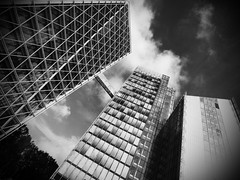 PA120395_bw (lychee_vanilla) Tags: bw architecture mnster lvm