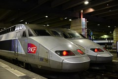 Paris - TGV (cnmark) Tags: paris france station speed train high gare railway montparnasse tgv traingrandevitesse allrightsreserved