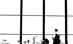 Simplicity ~ Museum Of Modern Art ~ Paris ~  MjYj (MjYj ~ IamJ) Tags: life street city blue light sunset urban bw woman white black paris sexy art texture love beauty fashion museum modern contrast dark soleil war pretty solitude noir day photographer time forum creative photojournalism documentary dancer advertisement bleu event cover amour invalides promenade stalker record romantic paparazzi eden contract feeling pompidou blanc reflets chronicles pleasure ville homme beaubourg tendre encounters freelancers mjyj mjyj© p8302844