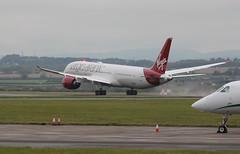 G-VNEW (aitch tee) Tags: aircraft boeing birthdaygirl takeoff airliner virginatlantic walesuk cardiffairport dreamliner gvnew namedaircraft b787900