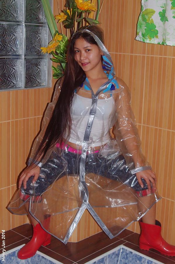 Black Rain Jacket