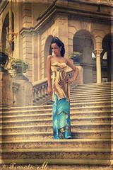 (Fleur de Lotus) Tags: summer stairs summerdress ciutadellapark